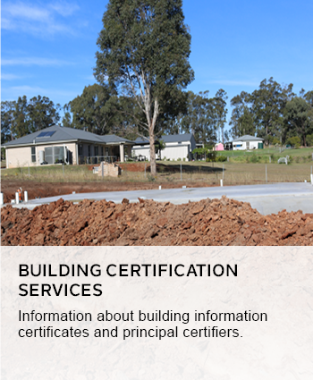building certification services
