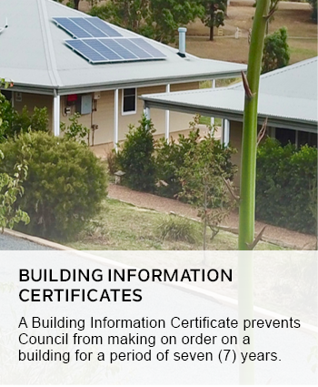 building information certificates