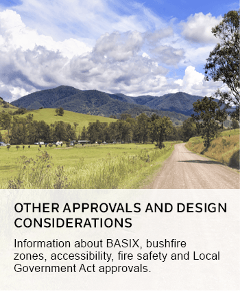 other approvals and design considerations