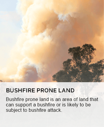 bushfire prone land