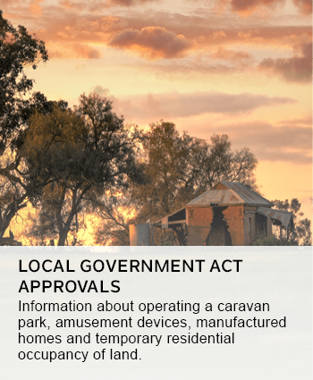 local government act approvals