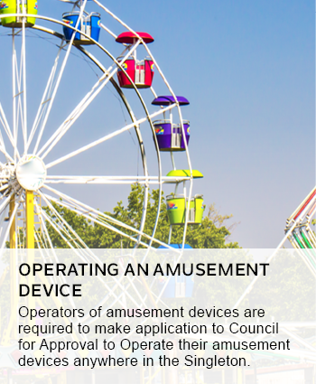operating an amusement device