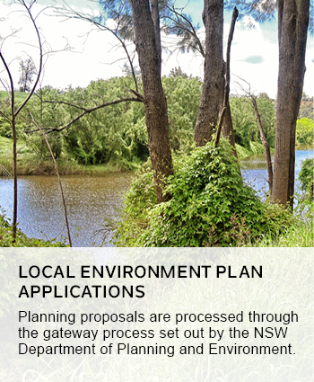local environment plan applications