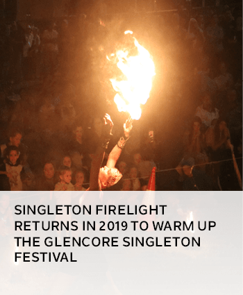 SINGLETON FIRELIGHT RETURNS IN 2019 TO WARM UP THE GLENCORE SINGLETON FESTIVAL