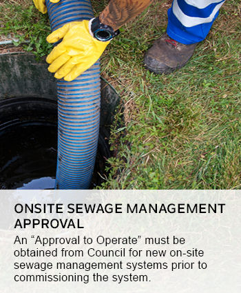 ONSITE SEWAGE MANAGEMENT APPROVAL
