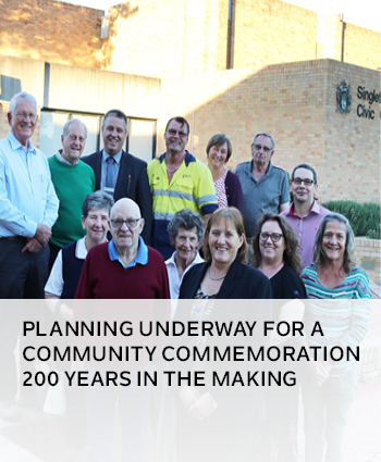 PLANNING UNDERWAY FOR A COMMUNITY COMMEMORATION 200 YEARS IN THE MAKING