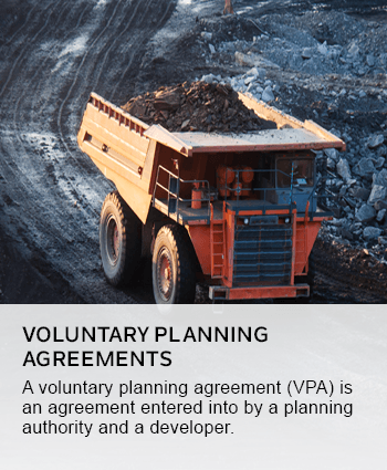 voluntary planning agreements