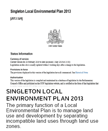 Singleton Local Environment Plan 2013