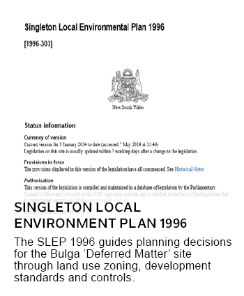 Singleton Local Environment Plan 1996