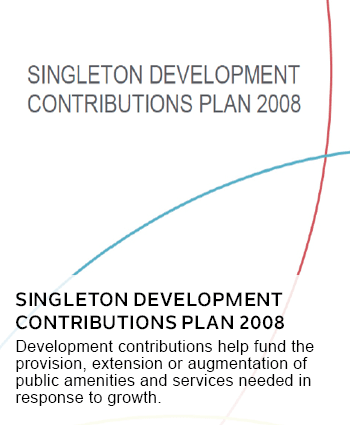 Singleton Development Contributions Plan 2008