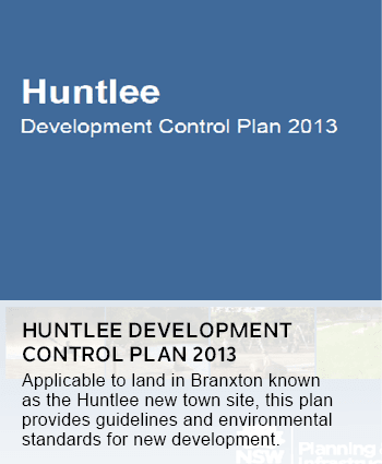 Huntlee Development Control Plan 2013