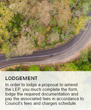 LEP lodgement