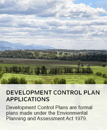 development control plan applications