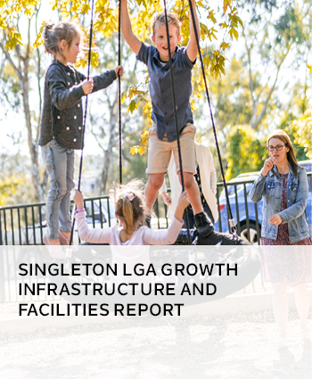 singleton lga growth infrastructure and facilities report