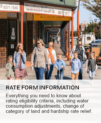 rate form information