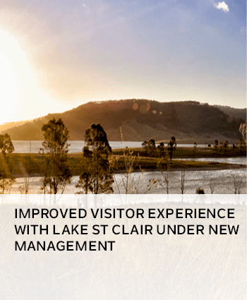 Improved visitor experience with Lake St Clair under new management