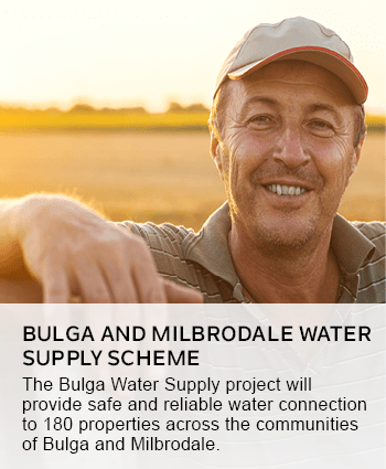 Bulga and Milbrodale Water Supply Scheme