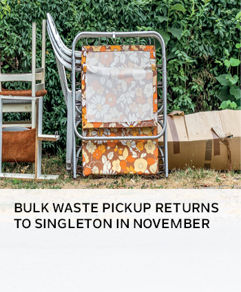 Bulk Waste pickup returns to Singleton in November
