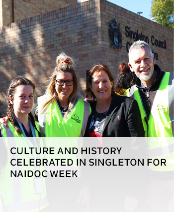 Culture and history celebrated in Singleton for NAIDOC Week