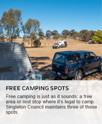 free camping spots