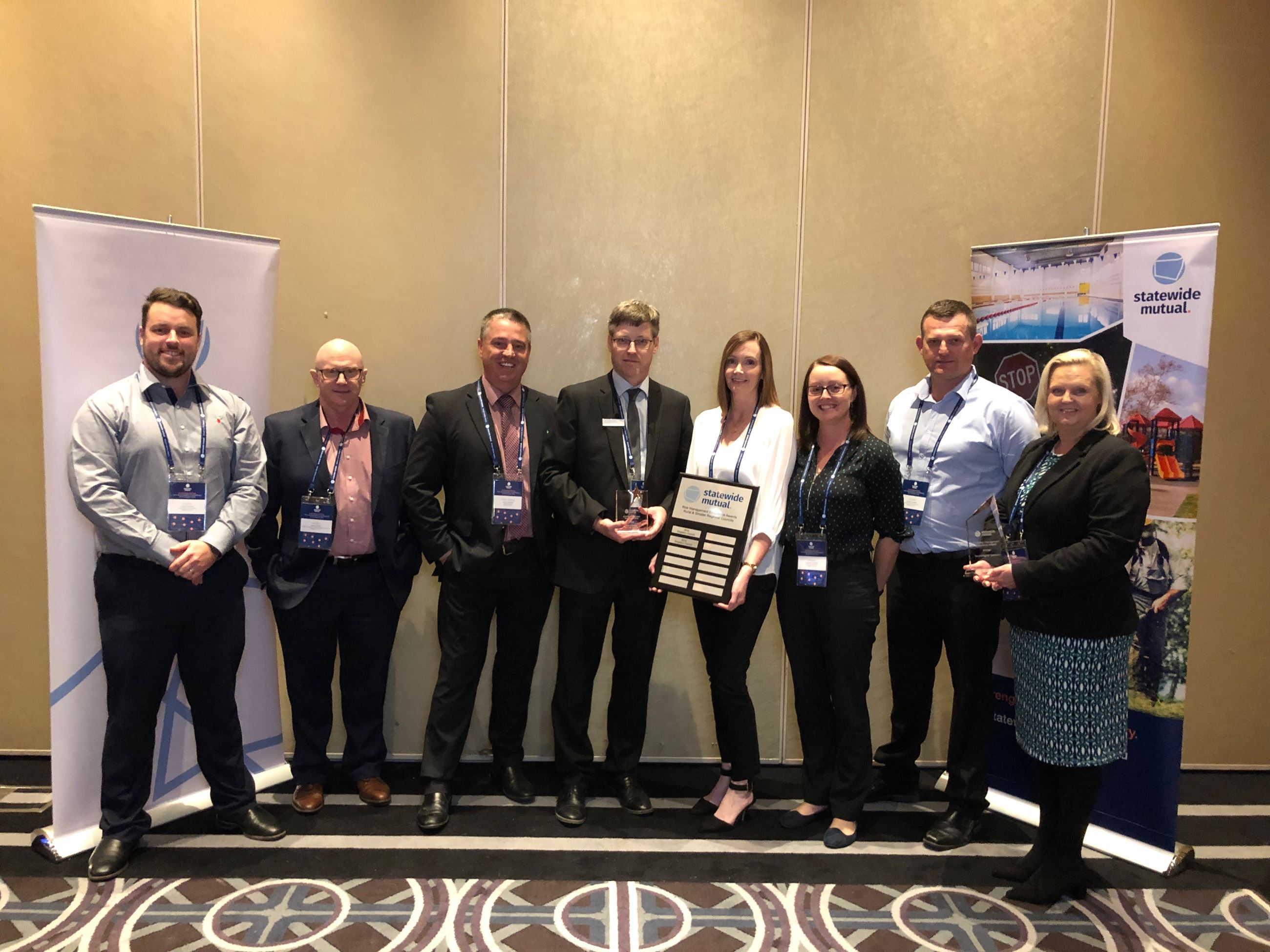 Councils integrated risk win award