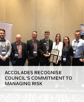 Accolades recognise Councils commitment to managing risk