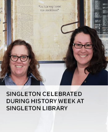Singleton celebrated during history week at Singleton Library