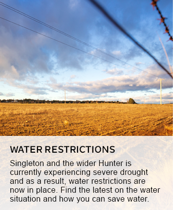 water restrictions