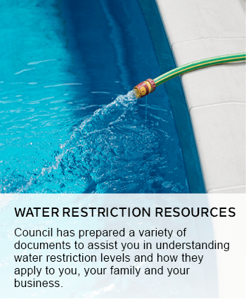 water restriction resources
