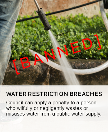 water restriction breaches