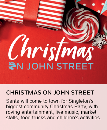 Christmas on John Street tile