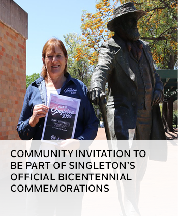 COMMUNITY INVITATION TO BE PART OF SINGLETONS OFFICIAL BICENTENNIAL COMMEMORATIONS