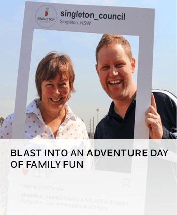 Blast into an adventure day of family fun