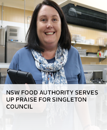 NSW Food Authority serves up praise for Singleton Council