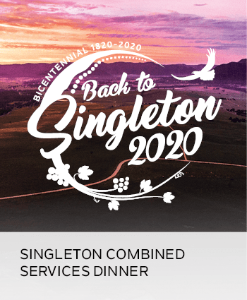 singleton combined services dinner