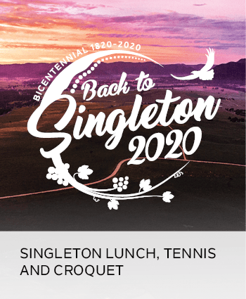 singleton lunch, tennis and croquet