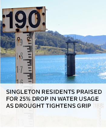 Singleton residents praised