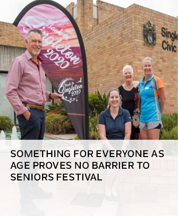 Something for everyone as age proves no barrier to Seniors festival