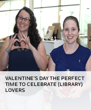 valentines day at the singleton public library