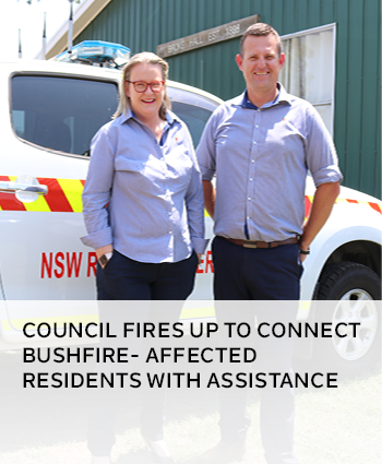 Council fires up to connect bushfire- affected residents with assistance