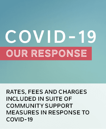 Rates, fees and charges included in suite of community support measures in response to COVID-19