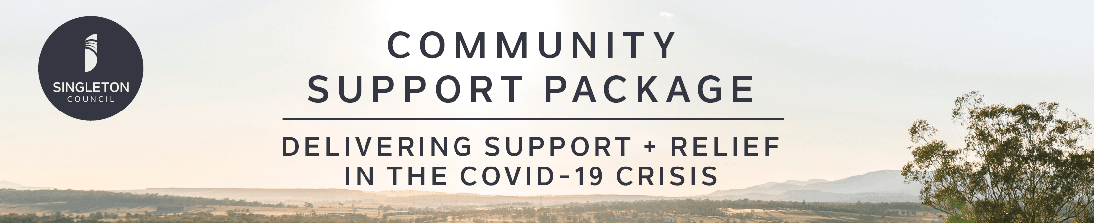 Community Support Package interior banner
