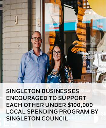 Singleton businesses encouraged to support each other under 100,000 local spending program by Single