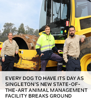Every dog to have its day as Singletons new state-of-the-art animal management facility breaks groun
