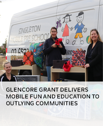 Glencore grant delivers mobile fun and education to outlying communities