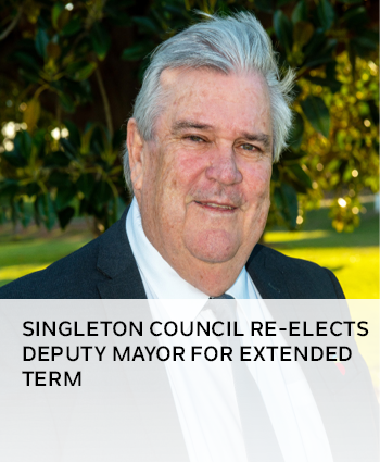 Singleton Council re-elects deputy mayor for extended term