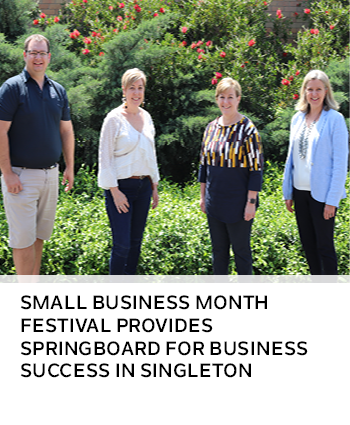 Small Business Month Festival provides springboard for business success in Singleton
