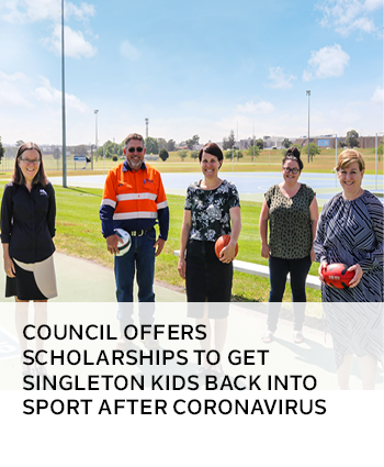 Council offers scholarships to get Singleton kids back into sport after coronavirus