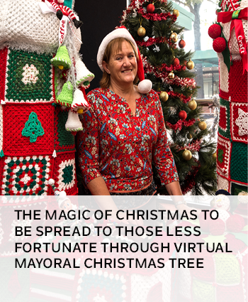 The magic of Christmas to be spread to those less fortunate through virtual Mayoral Christmas Tree