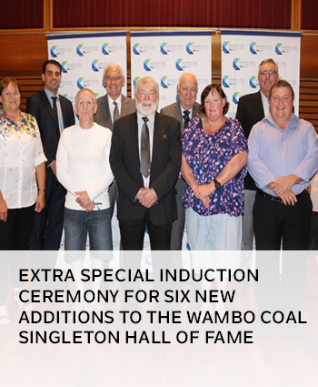 Extra special induction ceremony for six new additions to the Wambo Coal Singleton Hall of Fame